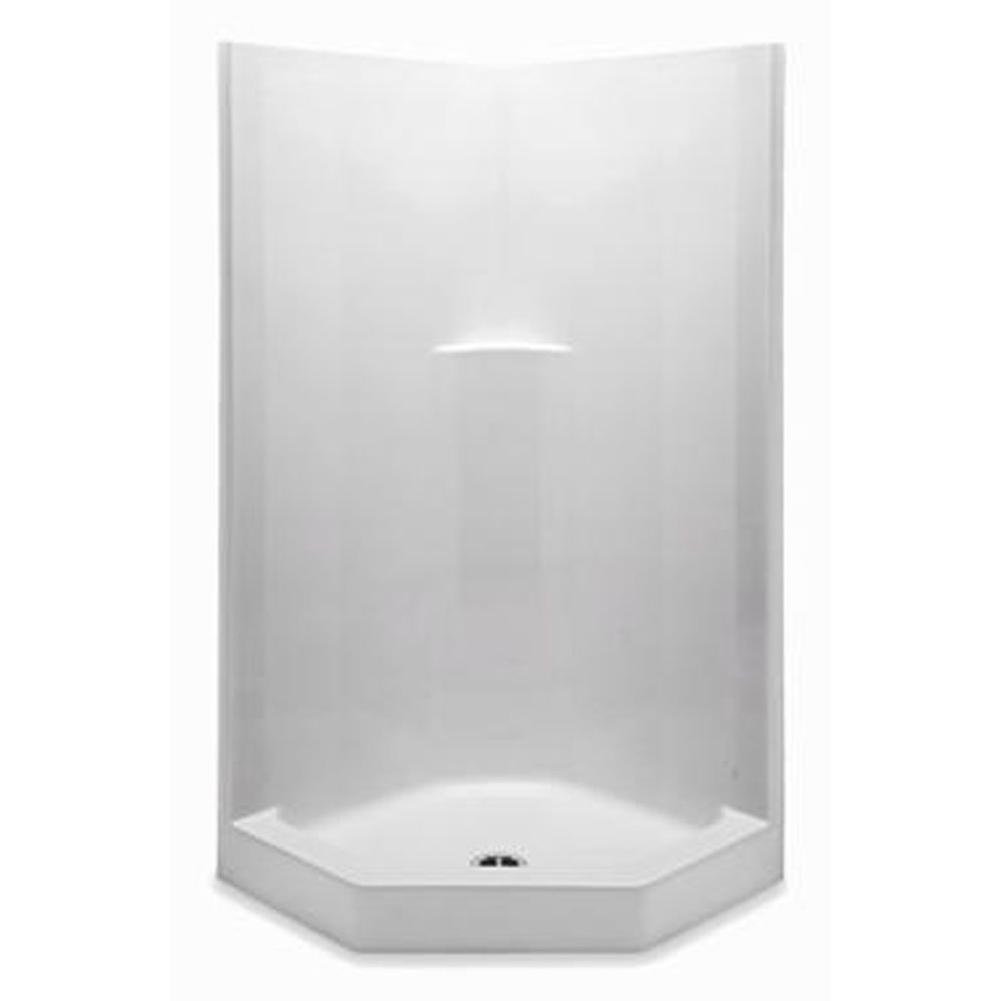 Aquatic Neo Angle Shower Enclosures item 1382NAT-LN