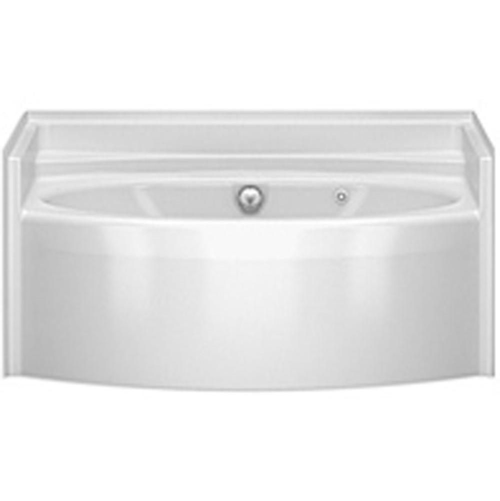 Aquatic Three Wall Alcove Whirlpool Bathtubs item 6042BWCMWP-BO