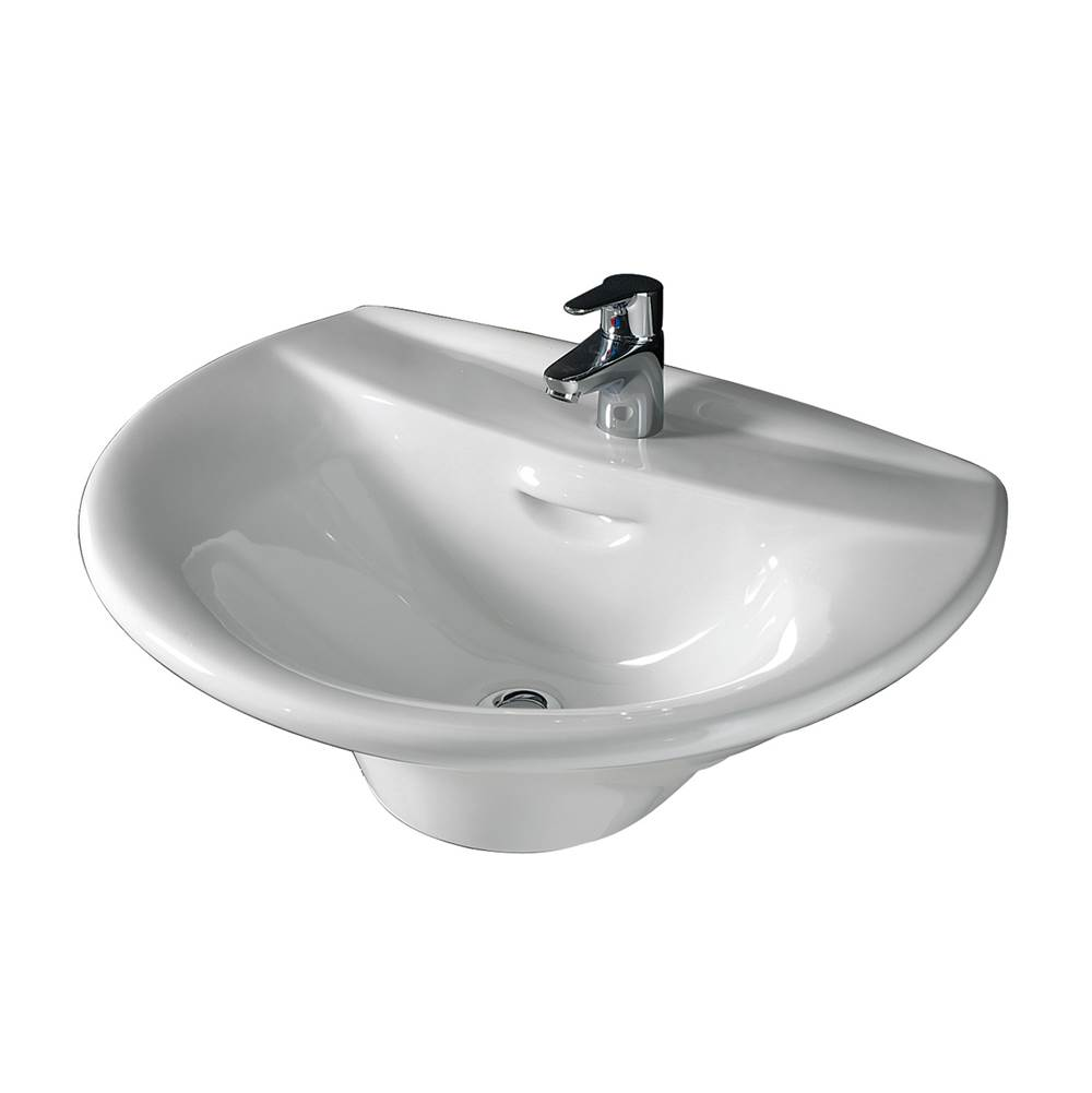 Barclay Wall Mount Bathroom Sinks item 4-131WH