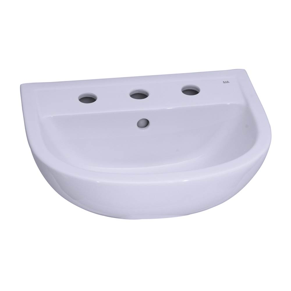Barclay Complete Pedestal Bathroom Sinks item B/3-548WH