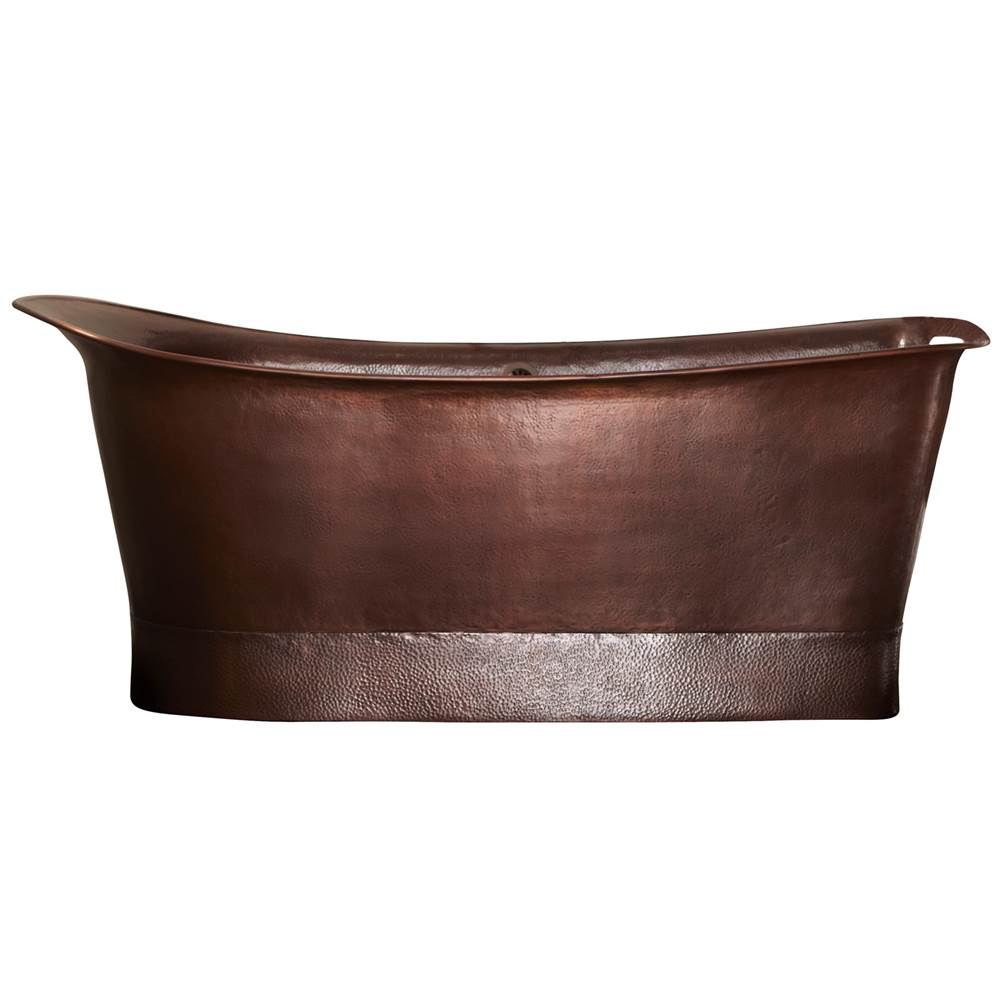 Tubs Soaking Tubs Free Standing Copper Tones   The Elegant Kitchen ...