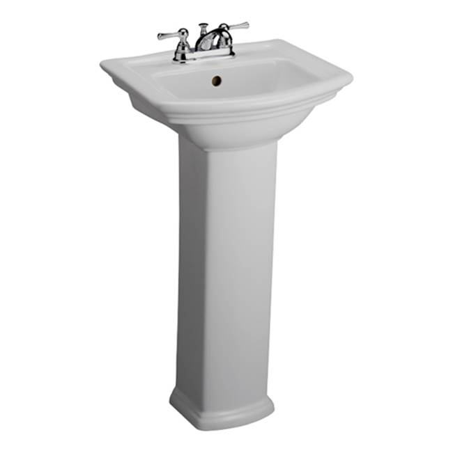 Barclay Complete Pedestal Bathroom Sinks item 3-384WH