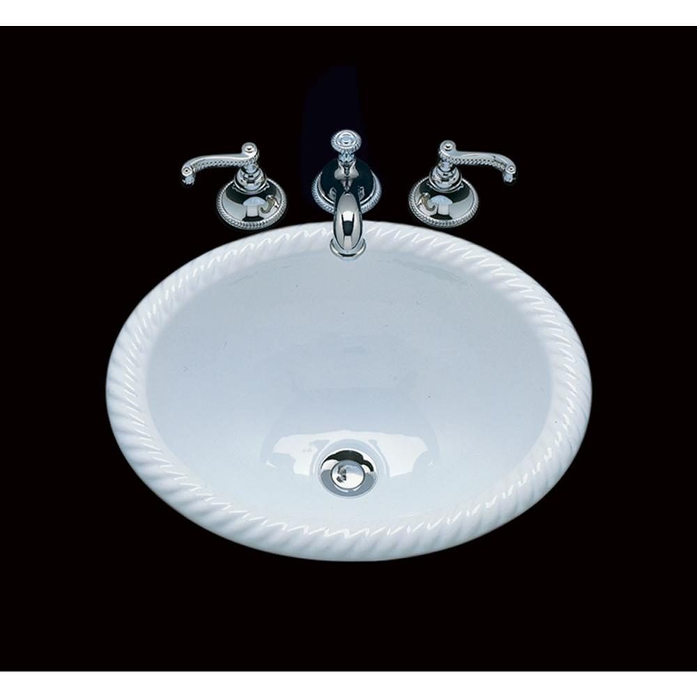 Bates And Bates Drop In Bathroom Sinks item P1815.D2.TC