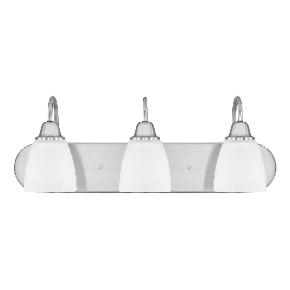 Capital Lighting Three Light Vanity Bathroom Lights item 115131BN-337