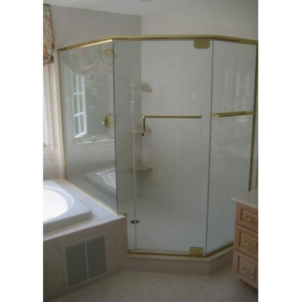 Showers Shower Doors Neo Angle | The Elegant Kitchen and Bath ...