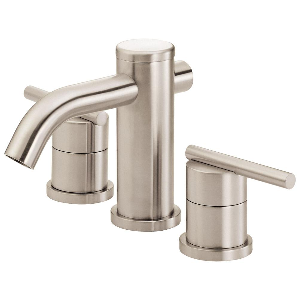 Faucets Bathroom Sink Faucets Mini Widespread | The Elegant Kitchen ...