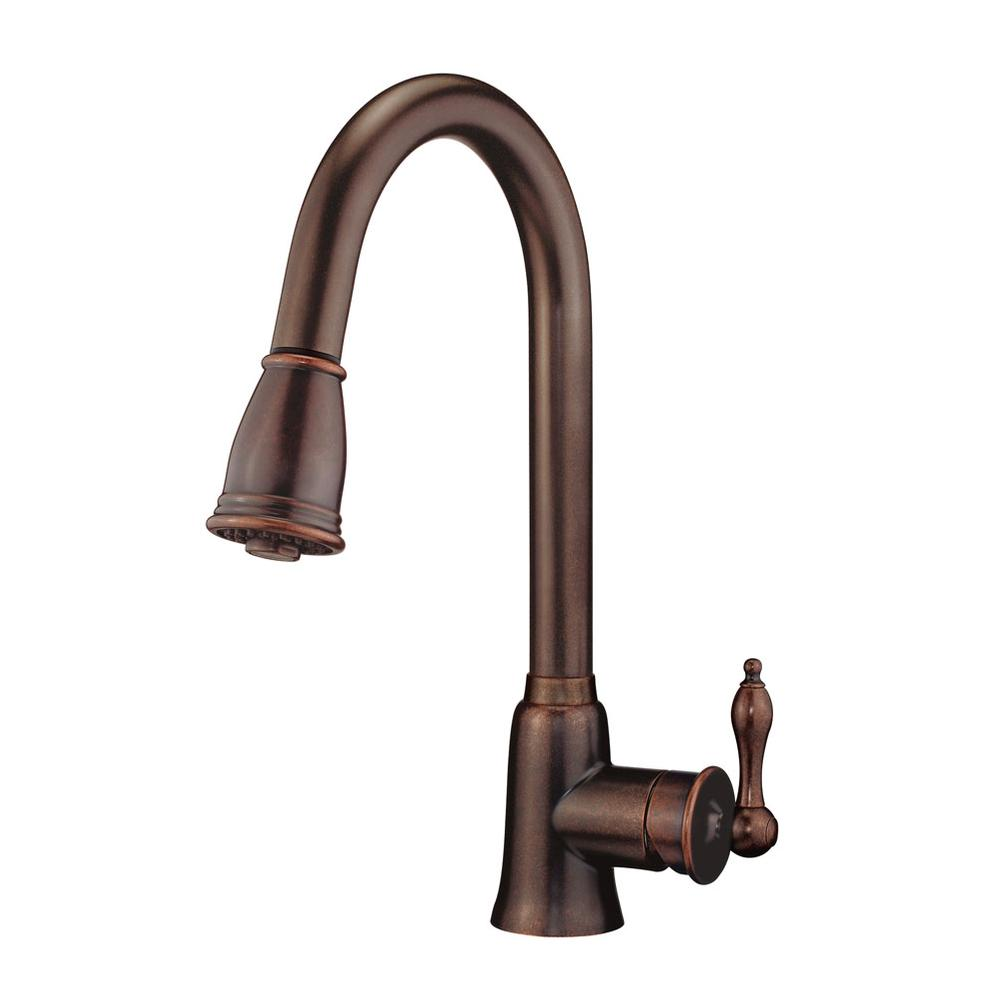 Danze Single Hole Kitchen Faucets item D454410BR