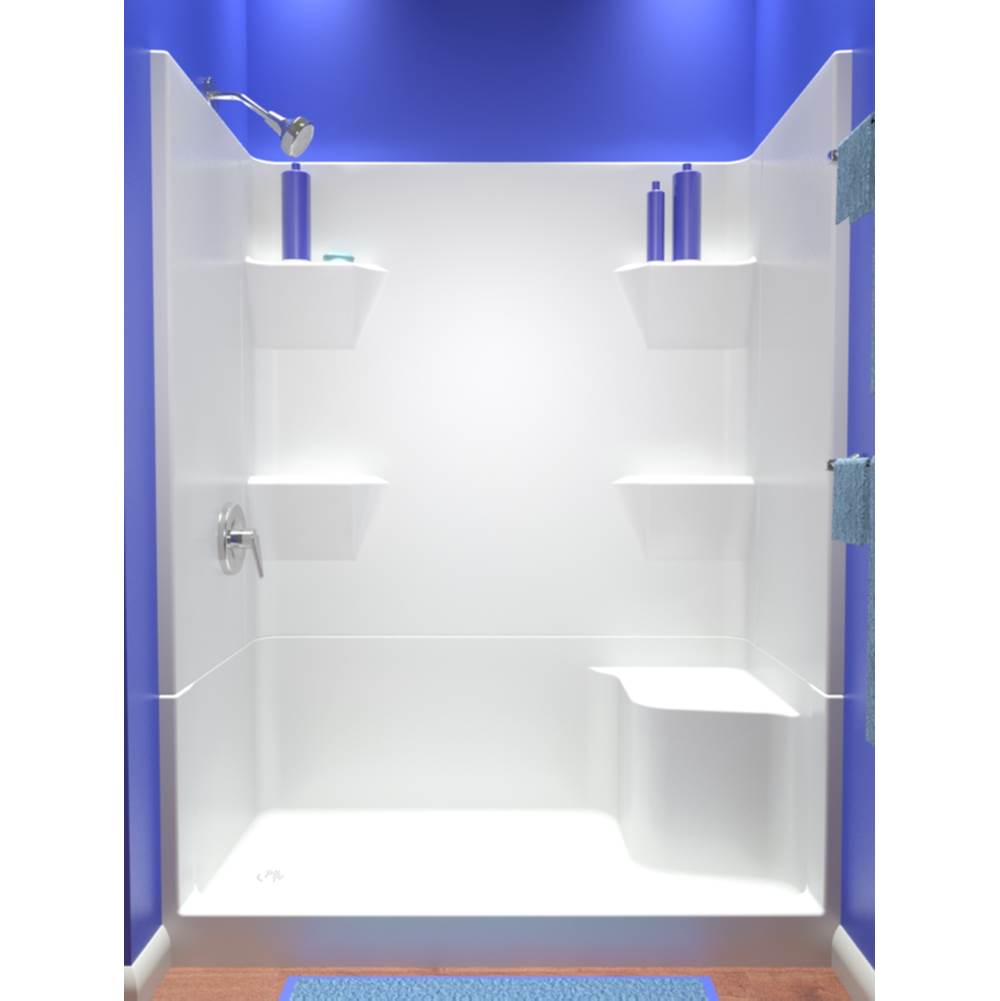 Diamond Tub And Showers Bypass Shower Enclosures item SRRB4 SRLB4 603180