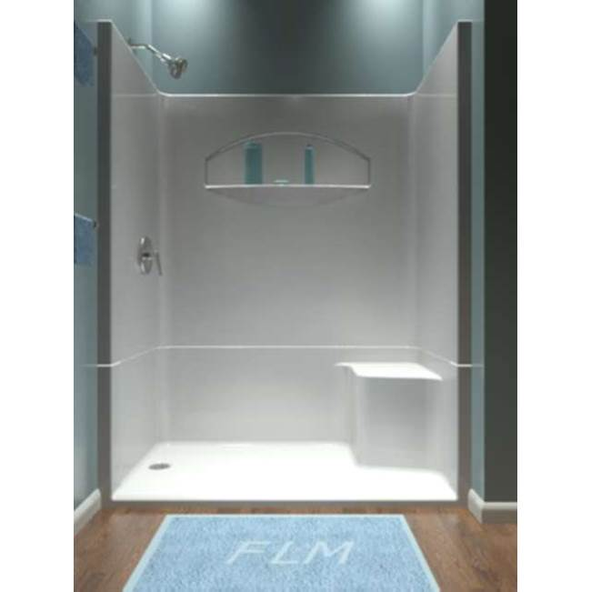 Diamond Tub And Showers Bypass Shower Enclosures item SHRRB4 603478