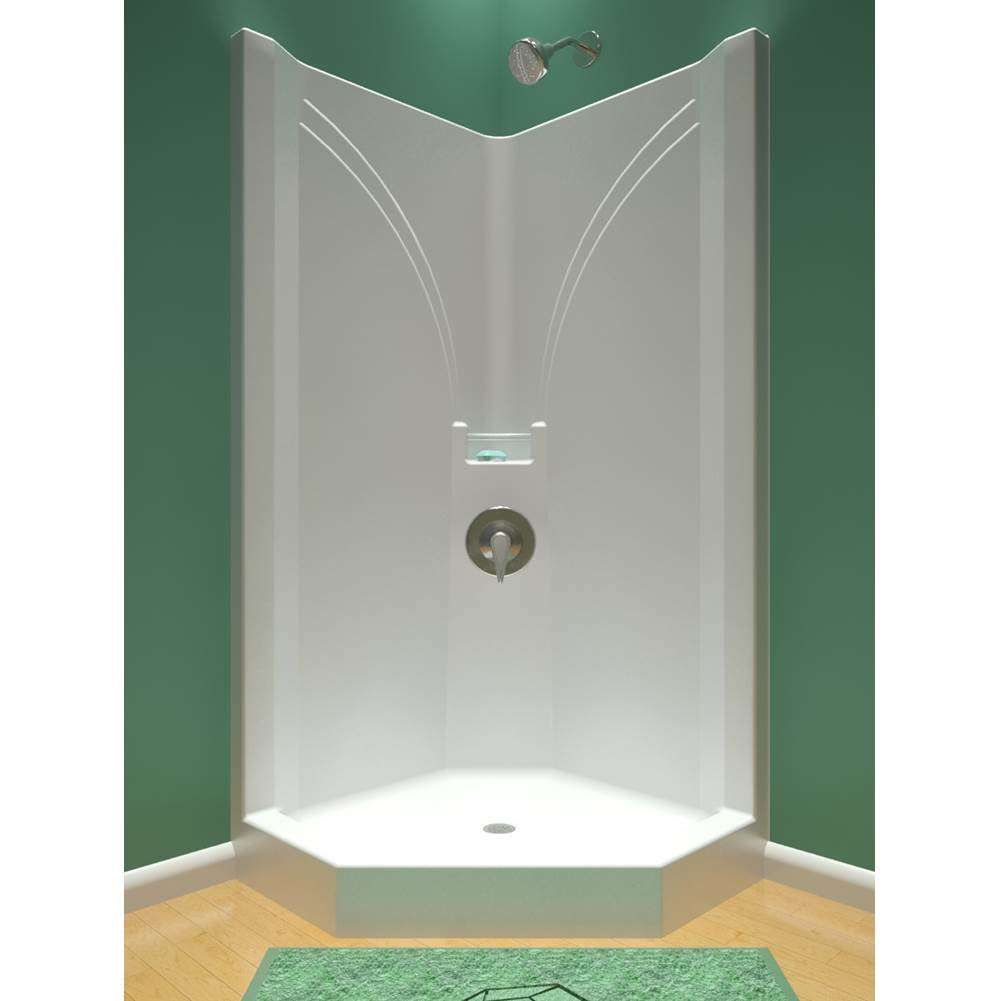 Diamond Tub And Showers Neo Angle Shower Enclosures item SNA 3474