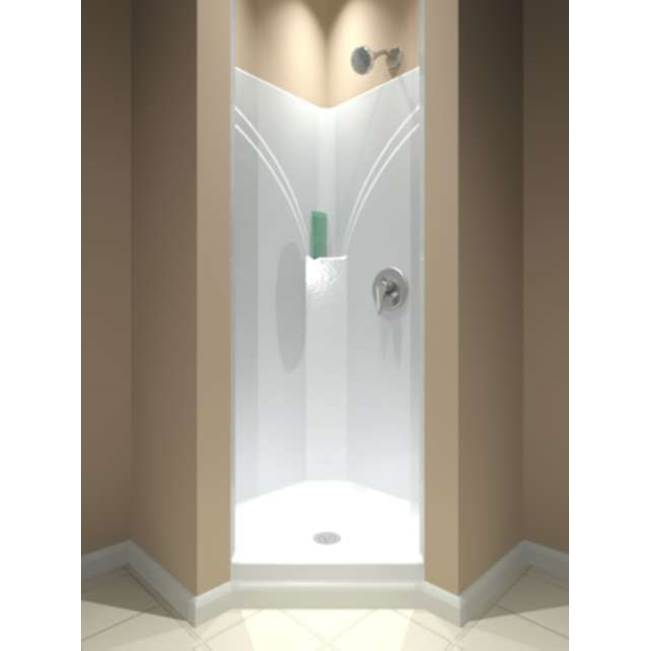 Diamond Tub And Showers Neo Angle Shower Enclosures item SNA 361978