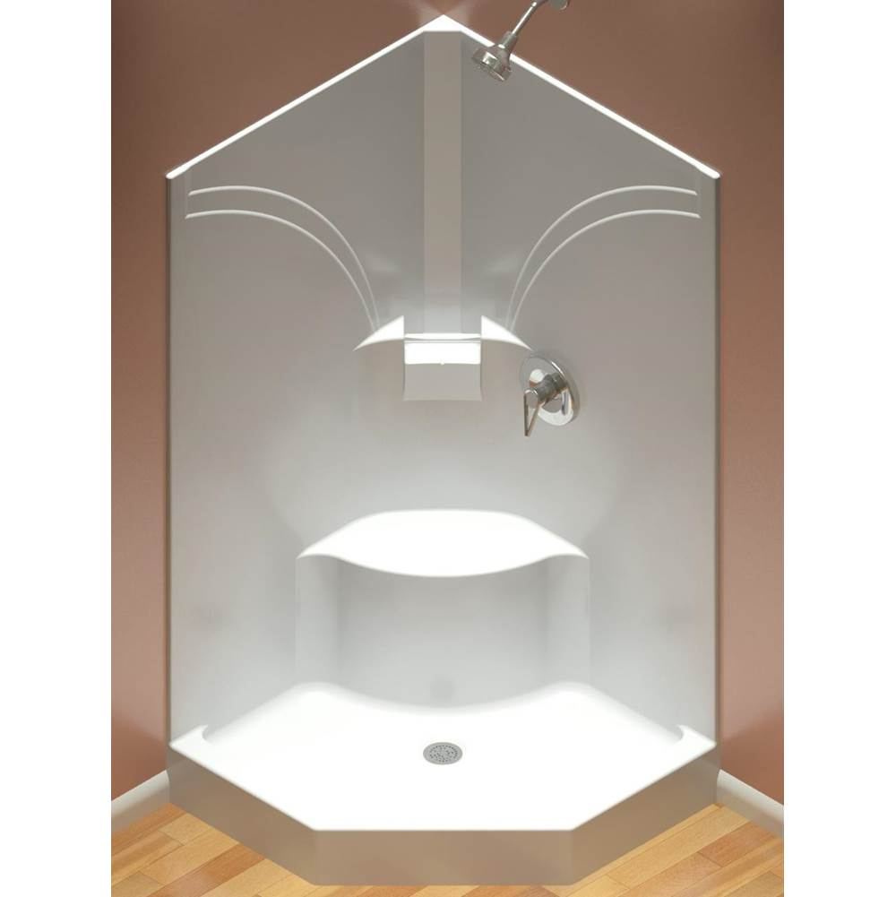 Diamond Tub And Showers Neo Angle Shower Enclosures item SNAS 3974