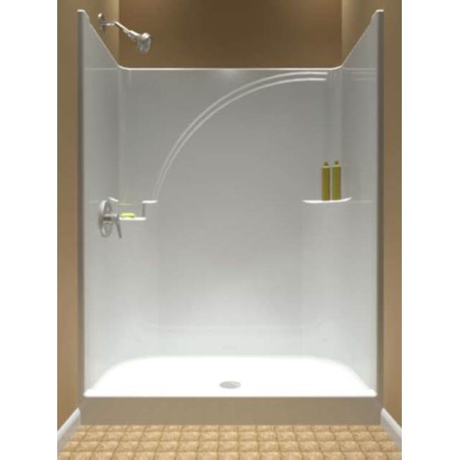 Diamond Tub And Showers Bypass Shower Enclosures item SNS 542873