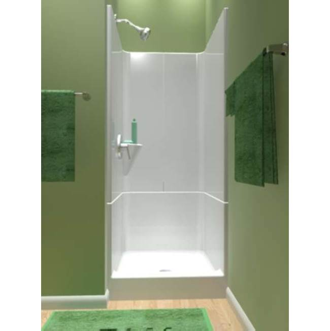 Diamond Tub And Showers Bypass Shower Enclosures item SR3 323476