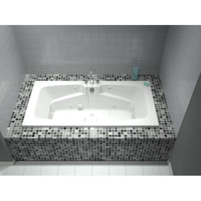 Diamond Tub And Showers Drop In Soaking Tubs item TO 723619-WP8