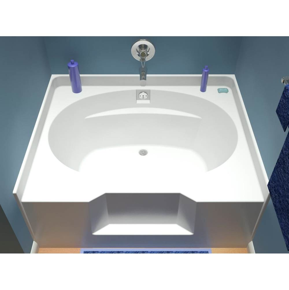 Diamond Tub And Showers Three Wall Alcove Soaking Tubs item TOAWS 604926 CB