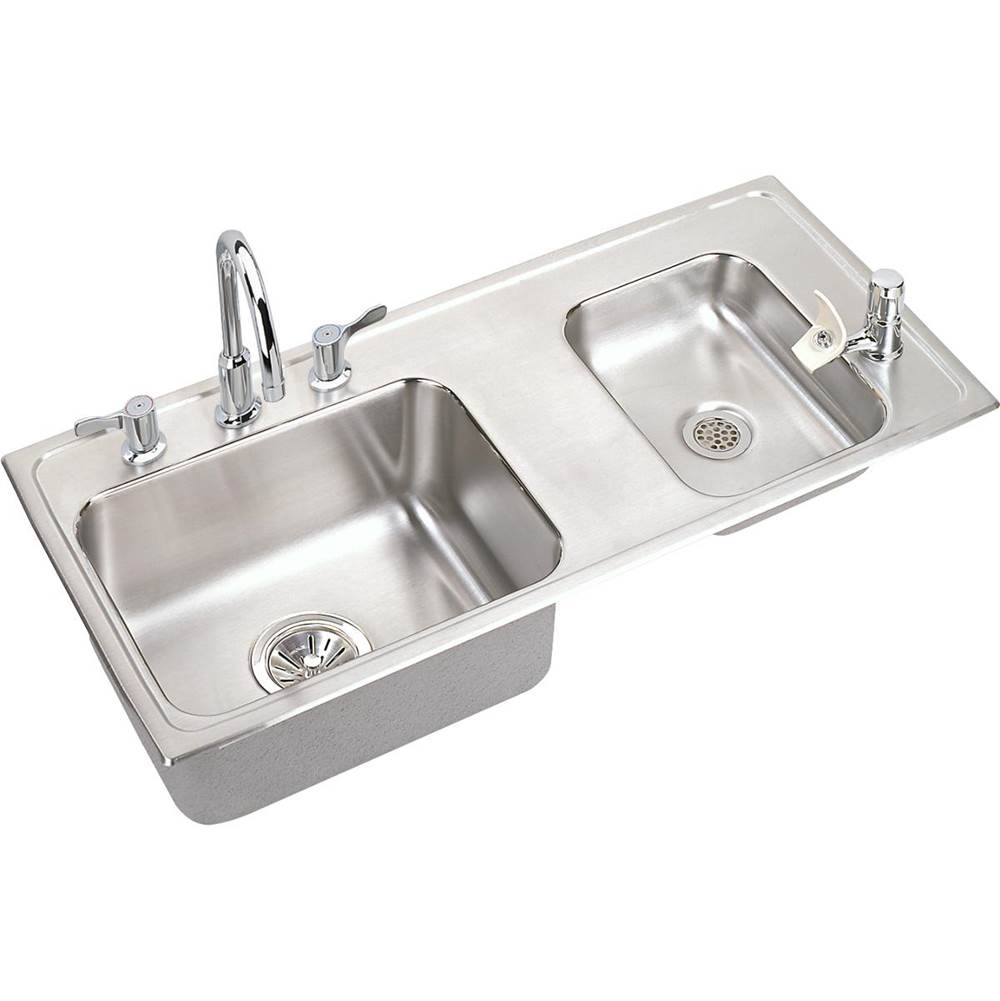 Elkay Drop In Laundry And Utility Sinks item DRKADQ371755RC