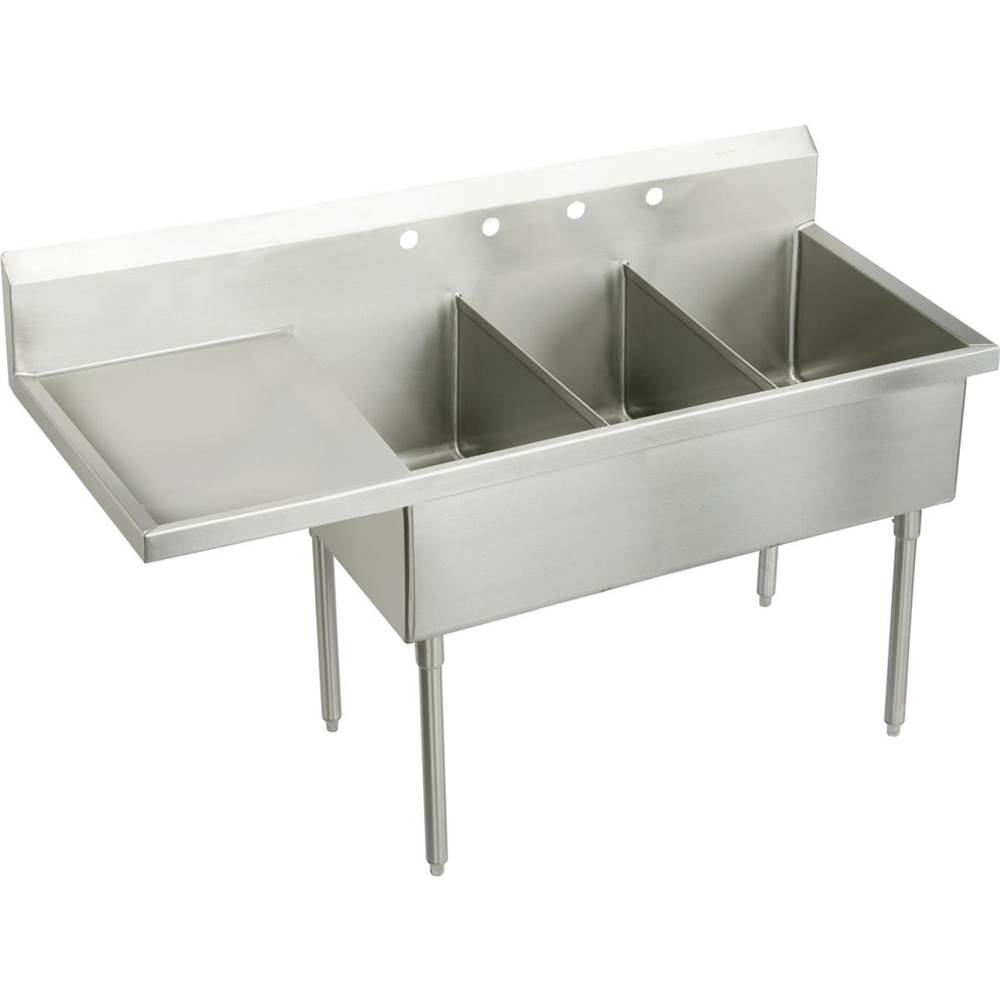 Elkay Console Laundry And Utility Sinks item SS8345L6