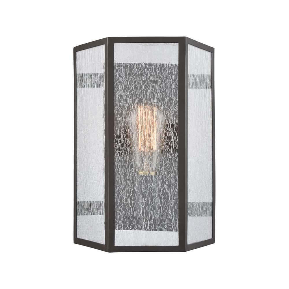 Elk Lighting 10150//1DR-MT-LED Wall Sconce Polished Chrome