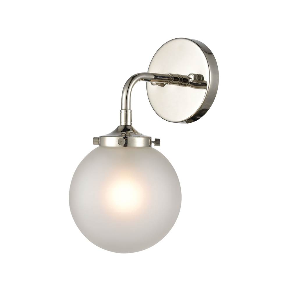 Elk Lighting 10151/1DR-SLV-LED Wall Sconce Dark Rust Wall Lamps ...