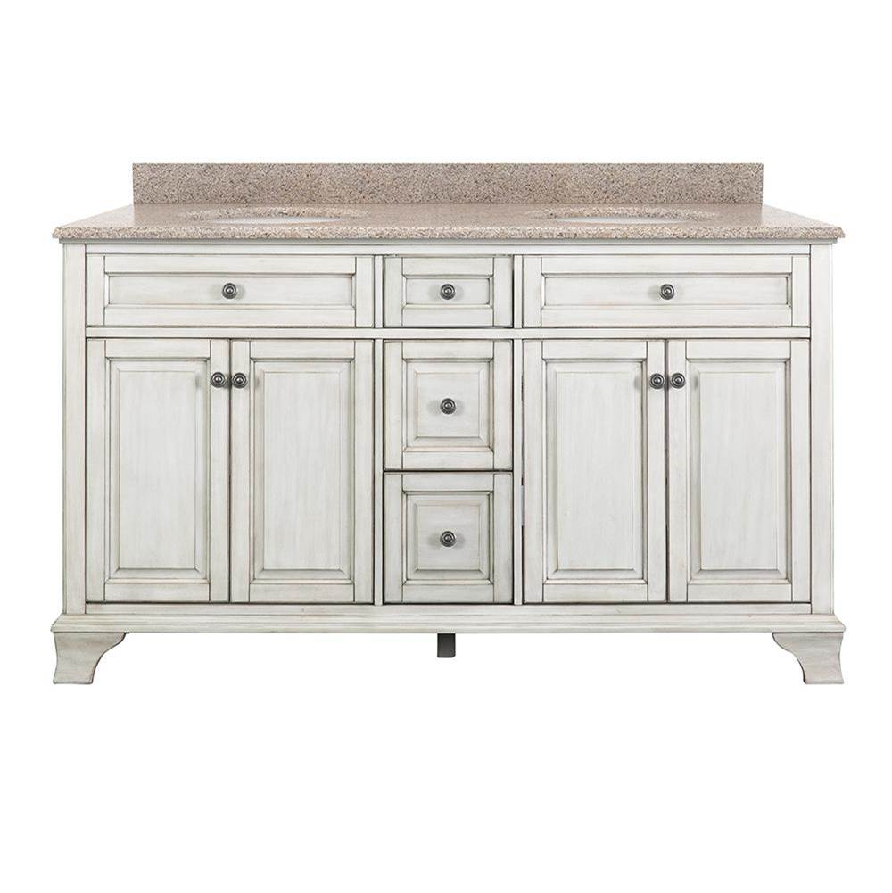 Foremost Vanity Combos With Countertops Vanity Sets item CNAWVT6122D-MB