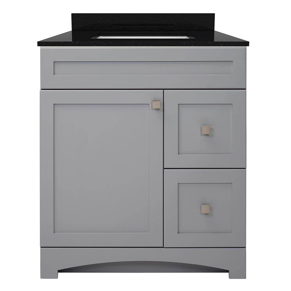 Foremost Vanity Combos With Countertops Vanity Sets item MXGVT3122-BGR