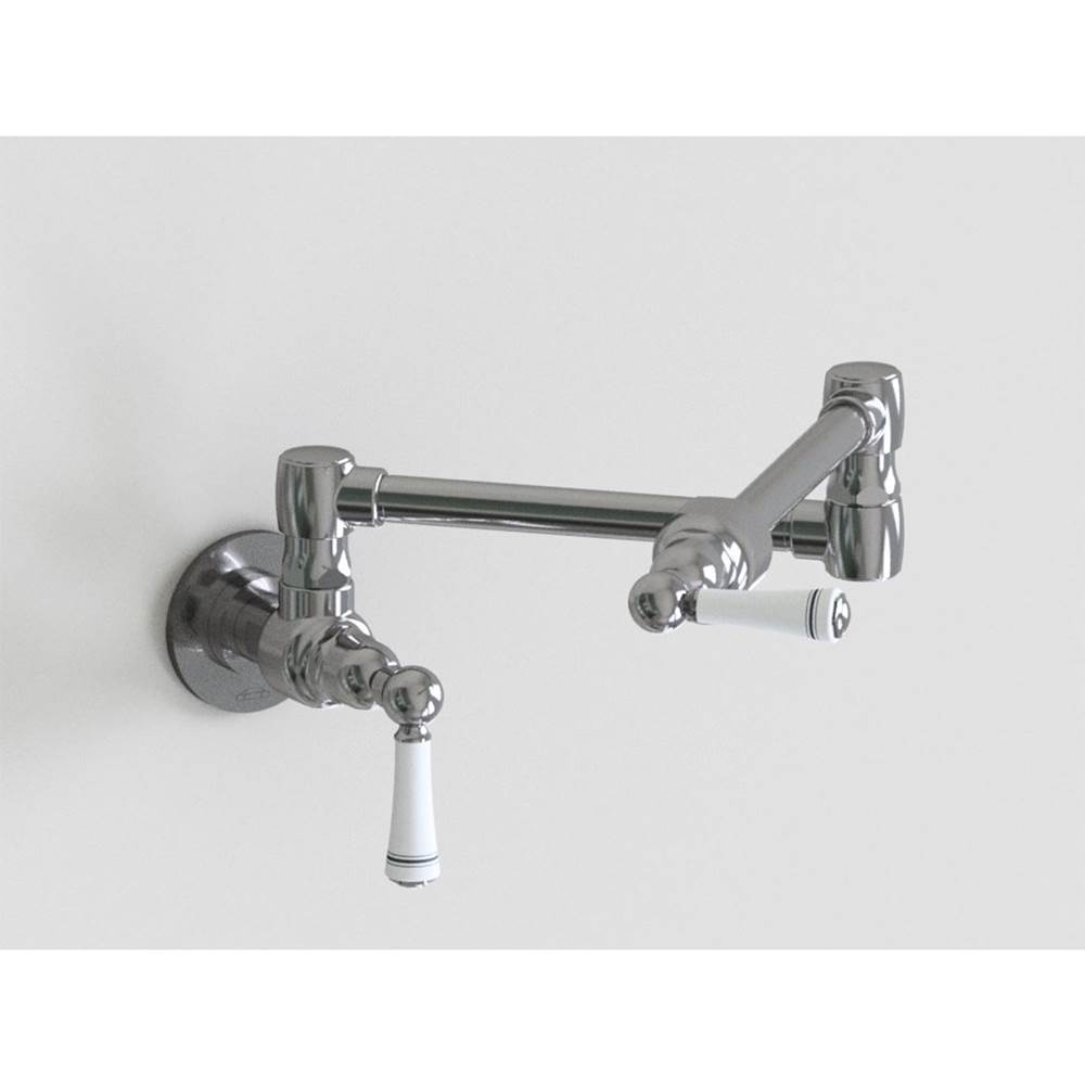 Jaclo Wall Mount Pot Filler Faucets item 1003-W-PSS