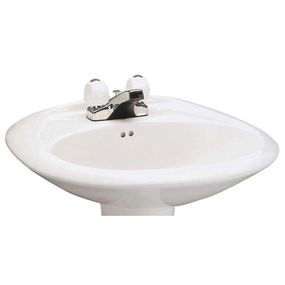 Mansfield Plumbing Vessel Only Pedestal Bathroom Sinks Item 348100040