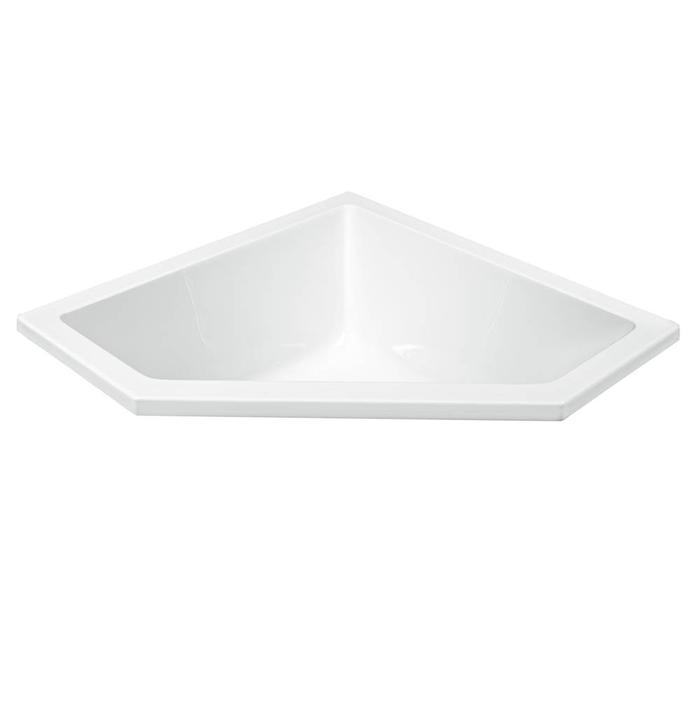 MTI Baths Undermount Whirlpool Bathtubs item P113U-WH-UM