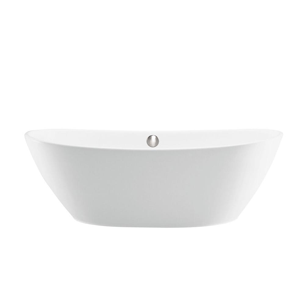 MTI Baths Free Standing Soaking Tubs item S115+BASEWHMT