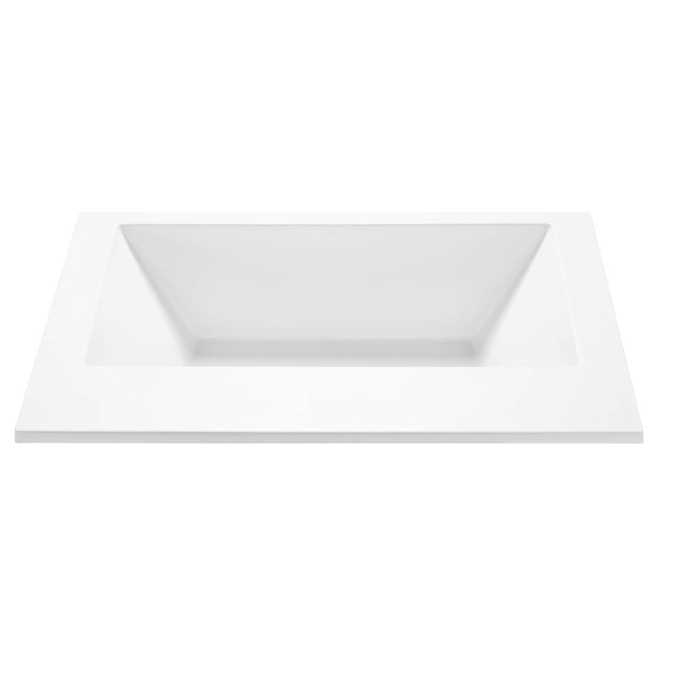 MTI Baths Undermount Air Bathtubs item AST175-WH-UM