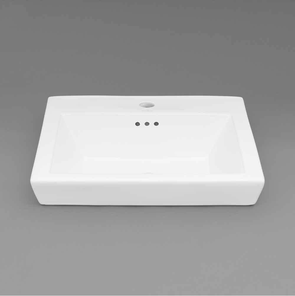 Ronbow Drop In Bathroom Sinks item 200480-8-WH