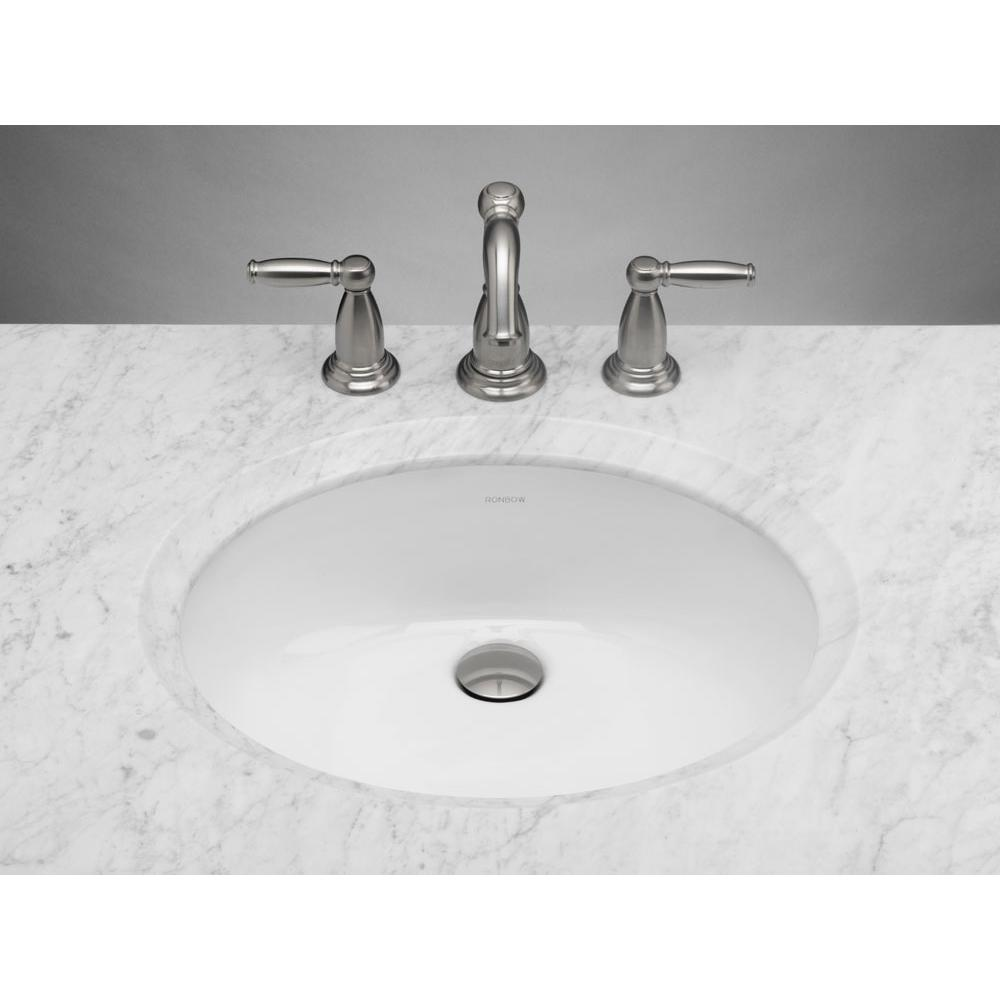 Ronbow Undermount Bathroom Sinks Item 200513 WH