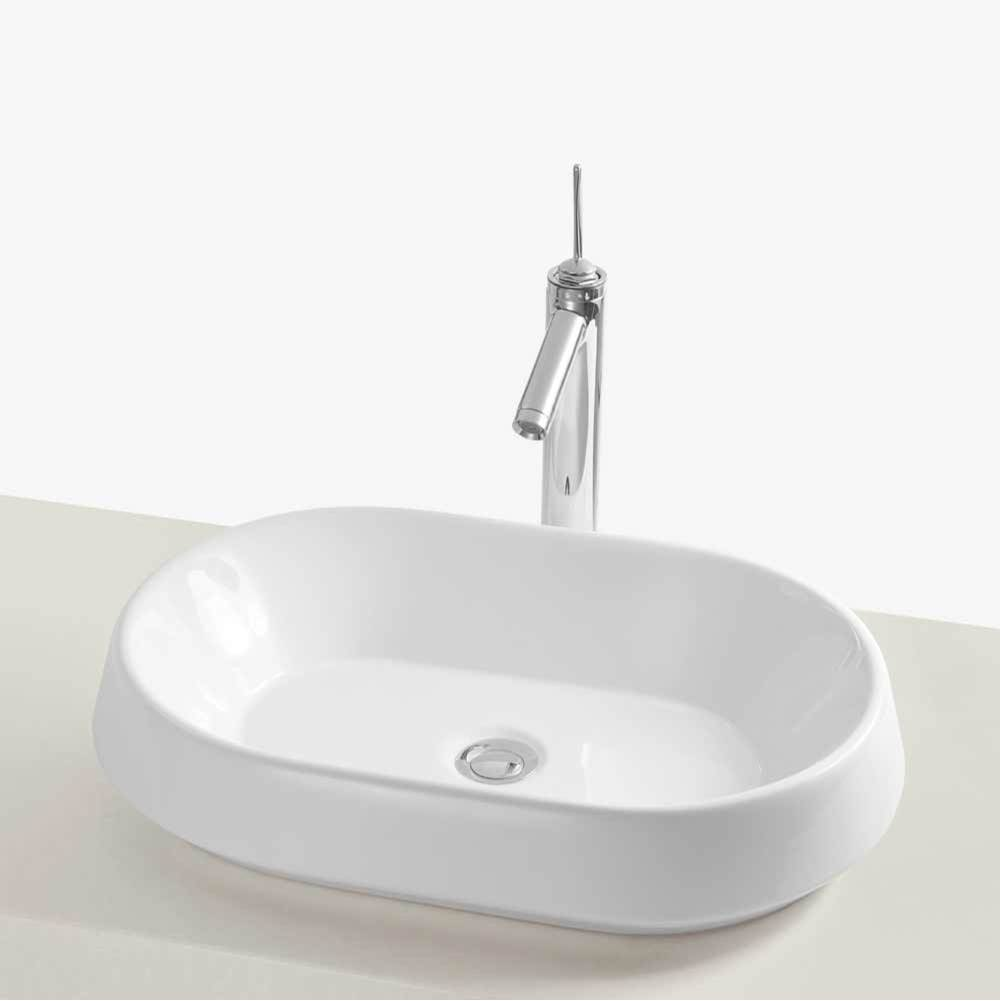 Ronbow Vessel Bathroom Sinks item E022003-WH
