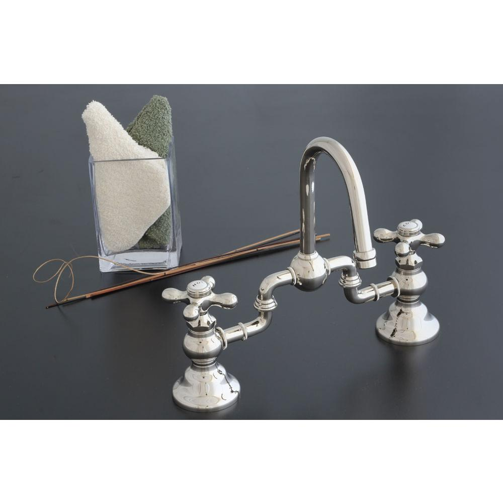 Bathroom Sink Faucets Bridge | The Elegant Kitchen and Bath ... on tub faucets, small bathroom faucets, black nickel faucets, bathroom faucet parts, bath faucets, cool bathroom faucets, modern bathroom faucets, bathroom basin sinks, bronze bathroom faucets, bathroom water faucets, shower faucets, bathroom mirrors, basin faucets, bathroom vanity faucets, bathroom sink drains, bathroom vanities, bathroom sink sinks, kohler bathroom faucets, bathroom sink ideas, grohe bathroom faucets,