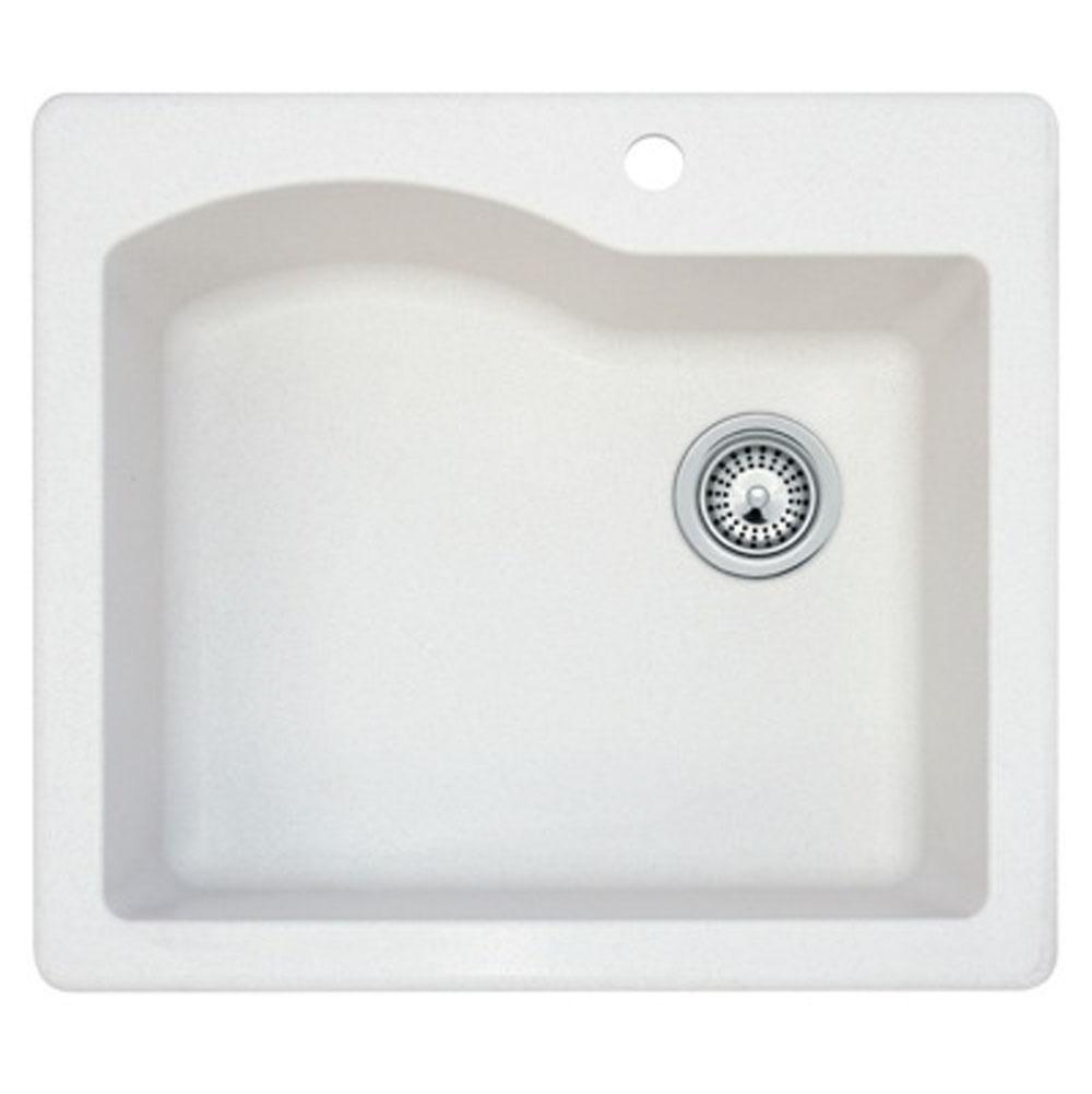 Kitchen Sinks White   The Elegant Kitchen and Bath - Indianapolis ...
