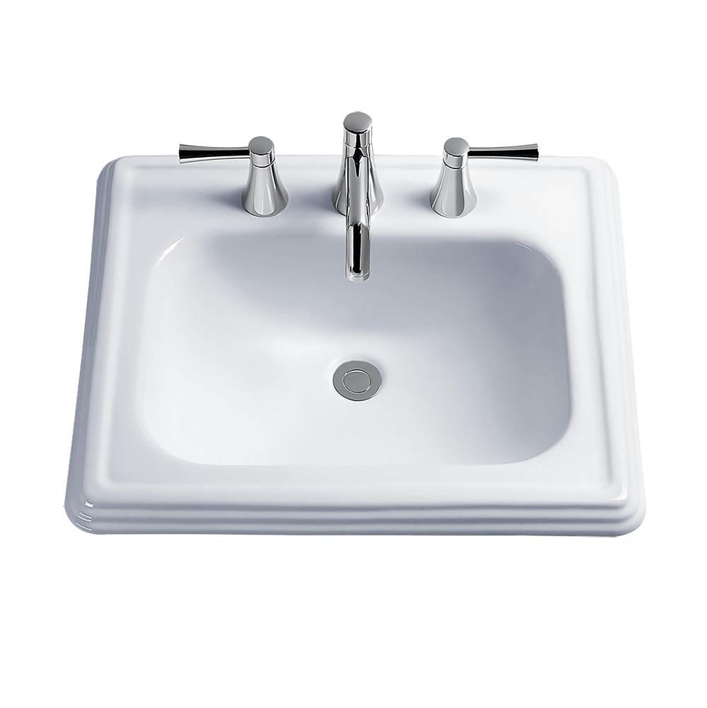 Toto Sinks Bathroom Sinks Drop In   The Elegant Kitchen and Bath ...